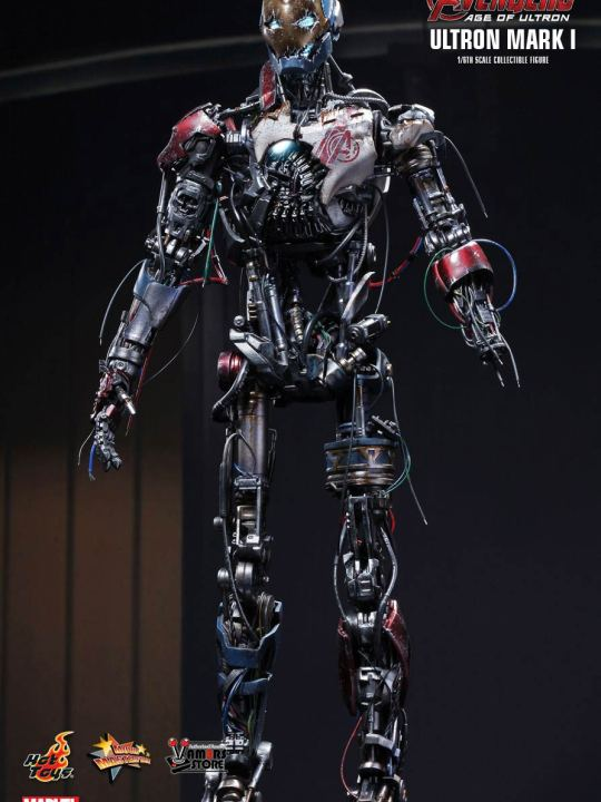 Vamers Store - Hot Toys - MMS292 - Avengers Age of Ultron - Ultron Mark I 01