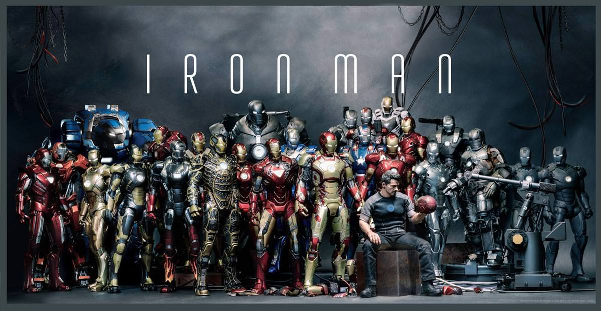Vamers Store - Hot Toys and other Iron Man Collectible Figures - Hosue Party Protocol - Iron Man Armours - Page Banner
