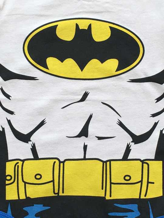 Vamers Store - Apparel - Baby Clothing - Batman Suit Baby Grow Romper - Close-Up