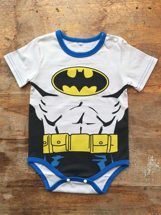 Vamers Store - Apparel - Baby Clothing - Batman Suit Baby Grow Romper - Front