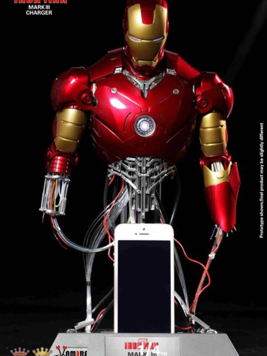 Vamers Store - King Arts - Power Charger Series (PCS003) - One Fourth Scale - Iron Man Mark III Repair Version - 00