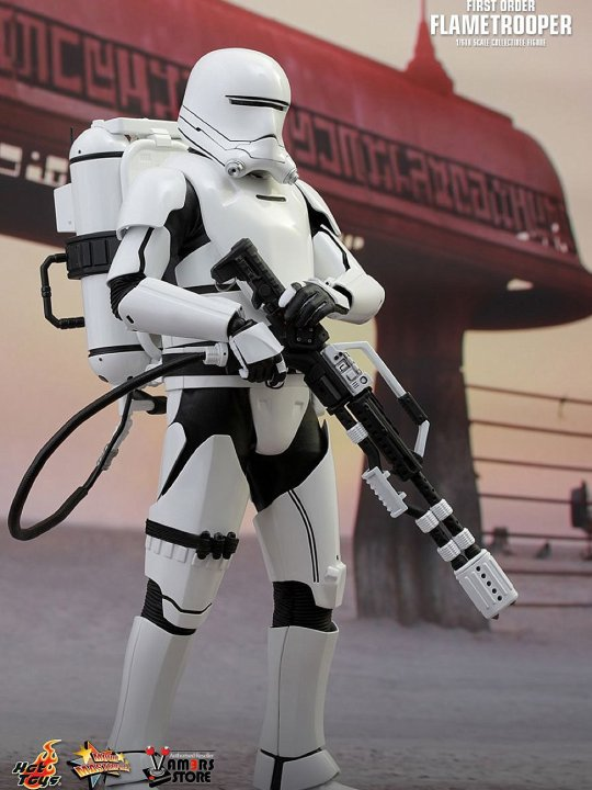 Vamers Store - Hot Toys - MMS326 - Disney's Star Wars Episode VII The Force Awakens - First Order Flametrooper - 01