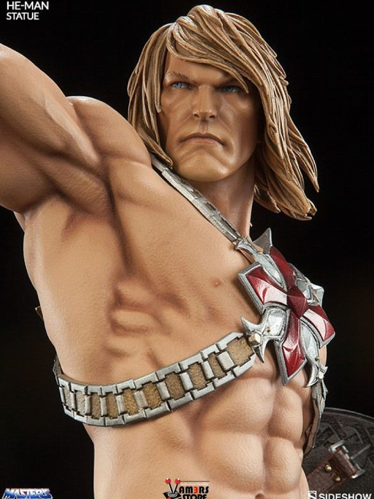Vamers Store - Sideshow Collectibles - VS-SSC-MOTU-HMS - Masters of the Universe - He-Man Statue - 08