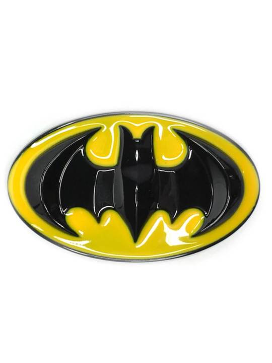 Vamers Store - Merchandise - Geek Chic - Accessories - Batman Classic Logo Belt Buckle inspired by DC Comics - 01