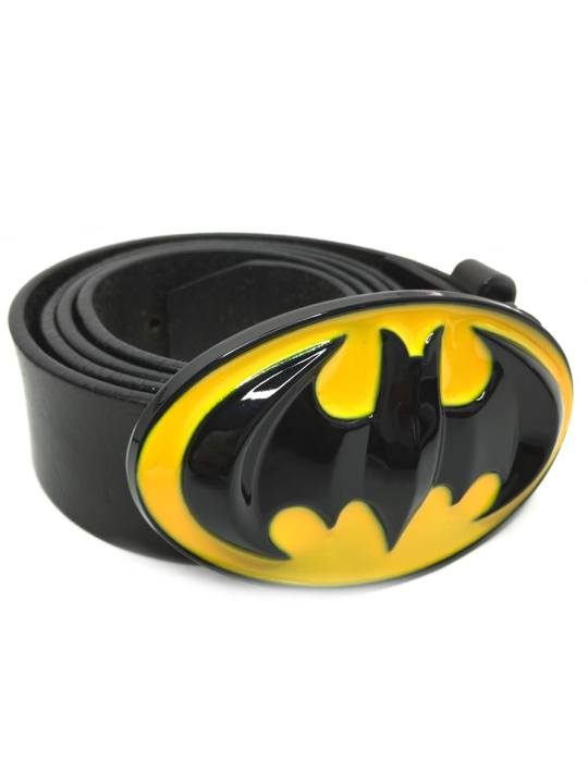 Vamers Store - Merchandise - Geek Chic - Accessories - Batman Classic Logo Belt Buckle inspired by DC Comics - 04