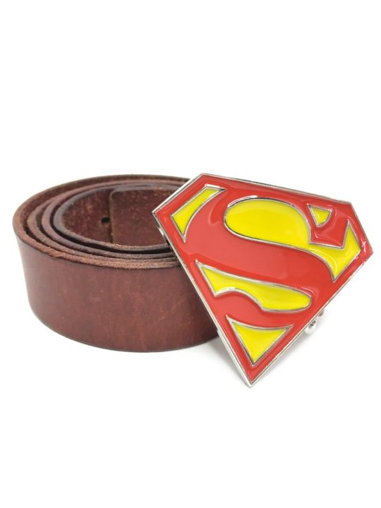Vamers Store - Merchandise - Geek Chic - Accessories - Bazinga Belt Buckles - Superman Classic Logo Belt Buckle inspired by DC Comics - 04
