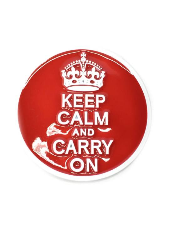 Vamers Store - Merchandise - Geek Chic - Accessories - Keep Calm and Carry On Belt Buckle inspired by Popular Culture - 01