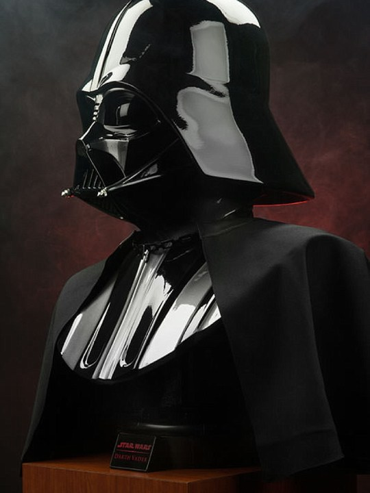 Vamers Store - Sideshow Collectibles - VS-SSC-DVLSB - Star Wars Darth Vader (Original Trilogy Version) - Life-Size - Bust - 02