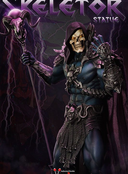 Vamers Store - Sideshow Collectibles - VS-SSC-STU-MOTUHMSK - Masters of the Universe - Skeletor Statue - 01