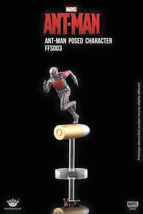 King Arts - Format Figure Series - Ant-Man - Posed on Bullet - VS-KAC-FFS003 - 03