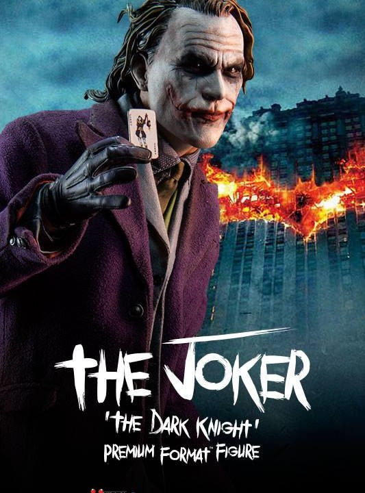 Vamers Store - Sideshow Collectibles - VS-SSC-PFF-TKTDR - The Joker 'The Dark Knight' Premium Format Figure - 01