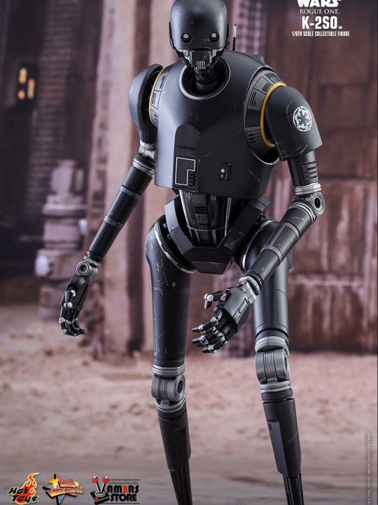 Vamers Store - Hot Toys - MMS406 - Disney's Star Wars Rogue One - K-2SO - 1