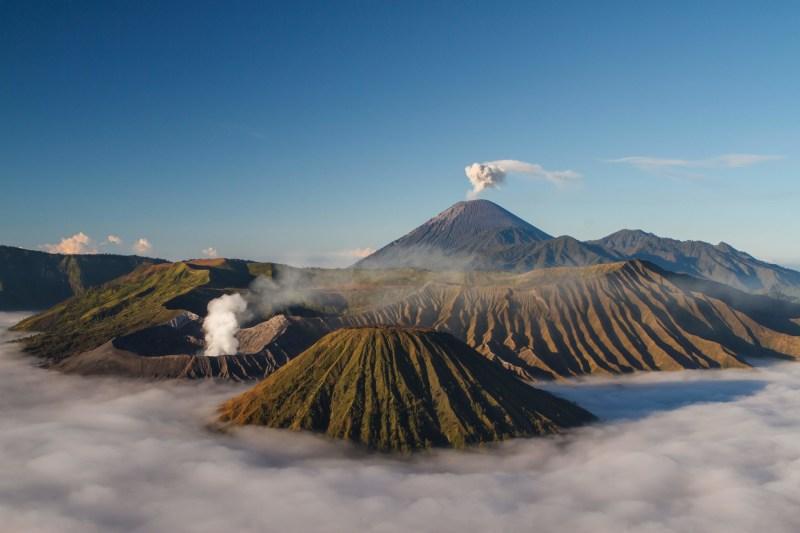 Bromo Tengger – Semeru e seus imponentes vulcões.
