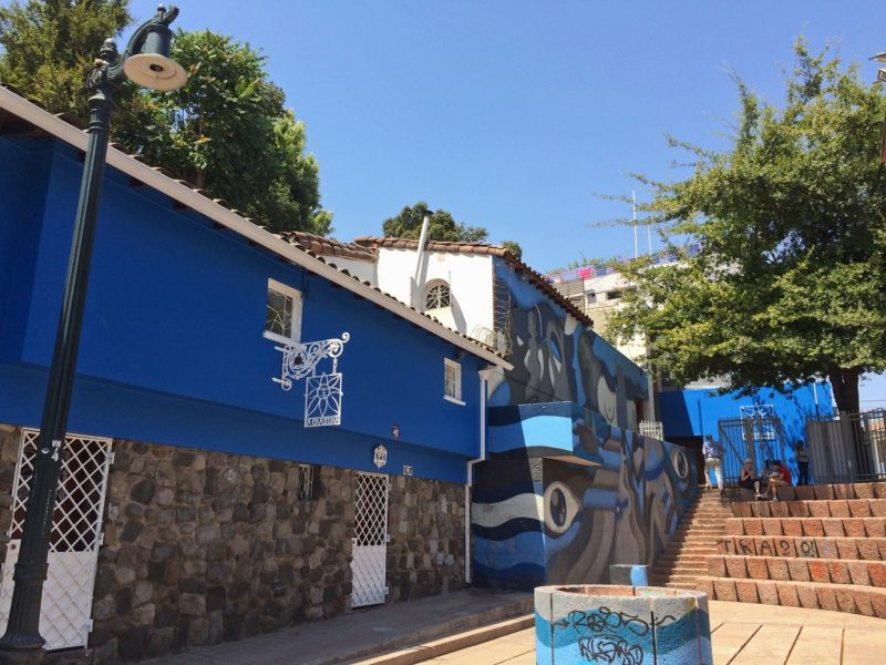 La Choscana, antiga casa do poeta Pablo Neruda