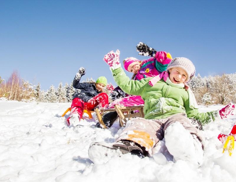 O Valle Nevado, Chile, é diversão garantida para a criançada.