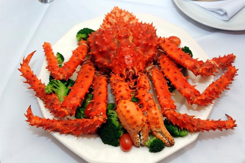 Centolla é prato obrigatório para quem visita o Chile.