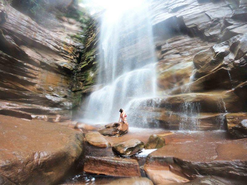 Cachoeira do Mosquito na Chapada Diamantina em 5 dias