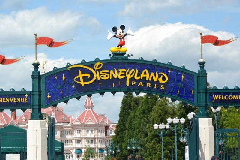 Entrada da Disney Paris