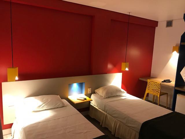 quarto do hotel Ibis em campina grande