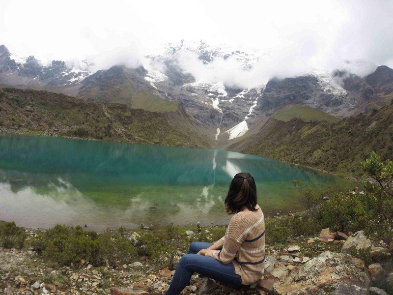 Lagoa Humantay perto de cusco