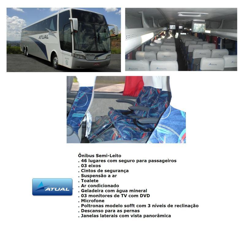 Atual 2011 - Serviço Semi Leito – Conceitos sobre esta categoria de transporte rodoviário