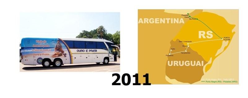 Atualização Ouro e Prata 6 - Ônibus do Brasil para Uruguai – Uma experiência única e diferenciada