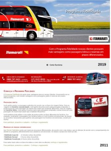 Expresso Itamarati 1 222x300 - Programa Fidelidade dos ônibus – Um forma de cortesia ao passageiro
