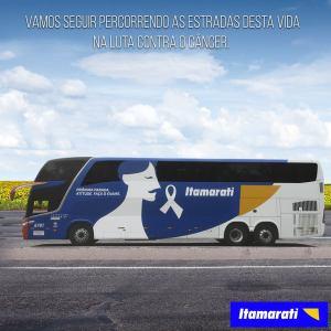 Expresso Itamarati 300x300 - Pinturas dos ônibus – O que há de mais moderno e chamativo em design de frota