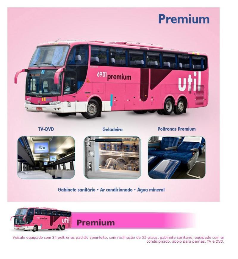 Util 2011 - Serviço Semi Leito – Conceitos sobre esta categoria de transporte rodoviário