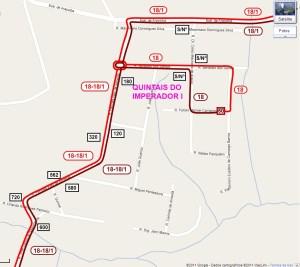 Setor Quintais do Imperador I 300x267 - Região Oeste de Sorocaba – Linhas de ônibus urbanas predominantes