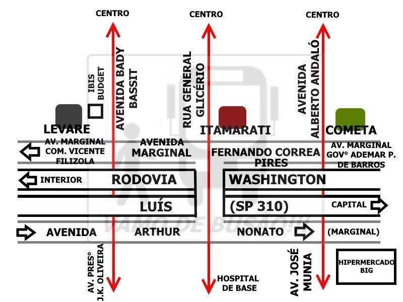 Localizacao das Salas VIPs em Sao Jose do Rio Preto - Sala VIP Rio Preto – Sua viagem rodoviária para São Paulo com mais comodidade
