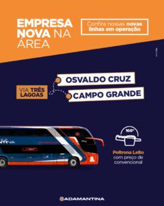 Proaganda Expresso Adamantina 05 MARÇO 2020 Linha Campo Grande Osvaldo Cruz 240x300 - Rodoviária de Osvaldo Cruz – Um pouco do interior paulista