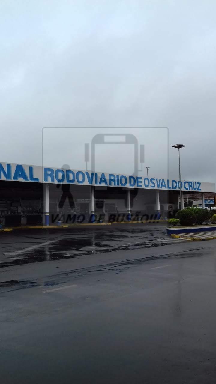 Rodoviária de Osvaldo Cruz I - Rodoviária de Osvaldo Cruz – Um pouco do interior paulista