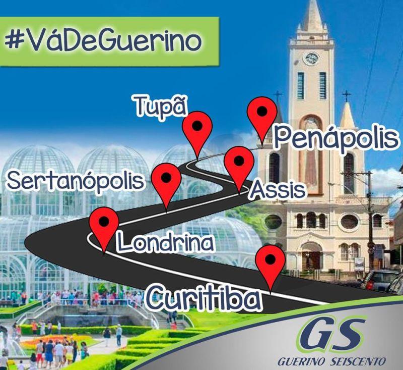 Linha Penapólis Curitiba via Assis da Guerino 600 - Rodoviária de Penápolis – Um pouco do interior paulista
