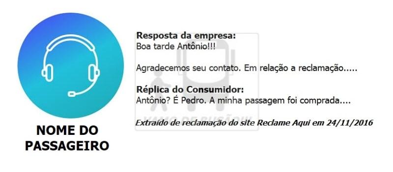 CONFUNDIR NOME DE PASSAGEIRO - Reclamações de empresas ônibus – As 8 piores falhas cometidas