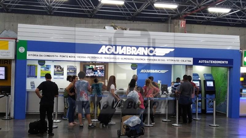 GUICHÊ ÁGUIA BRANCA - Terminal Rodoviário São Paulo – Informações sobre atendimentos