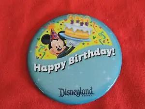 botones en Disneyland