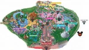 servicios adicionales en los parques Disney wifi
