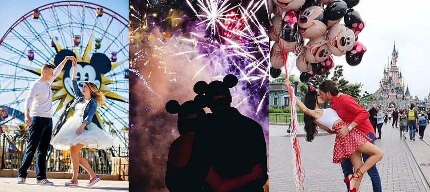 actividades románticas en Disneyland