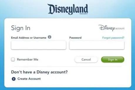 Comprar boletos para Disneyland por internet