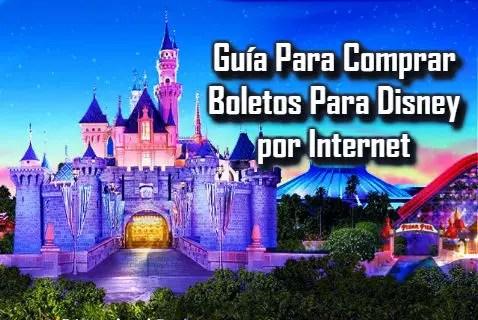 Comprar boletos para Disney