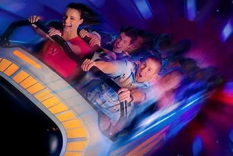 Atracciones en Disneyland