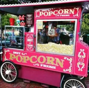 Palomitas en Disneyland snacks