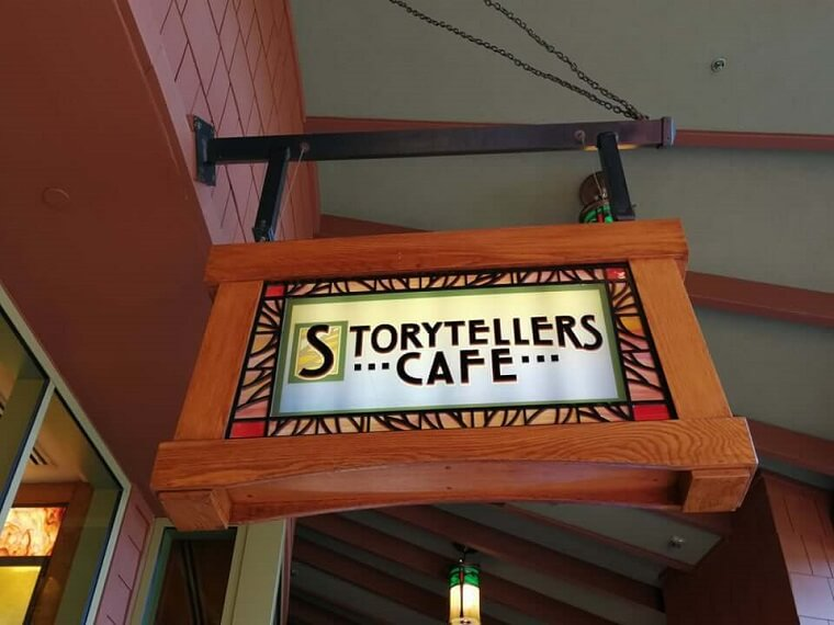 Desayuno con Personajes de Disney en Storytellers Café