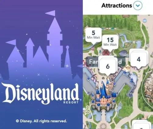 Aplicación de Disneyland California: Cómo Usarla
