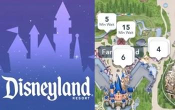 aplicación de Disneyland