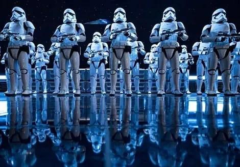 star wars Disneyland Rise of the Resistance