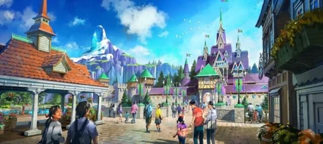 expansión para Disneyland