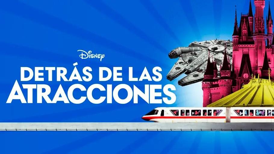 Series y Películas en Disney+ Parques Disney
