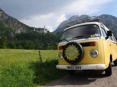 En autocaravana por Europa.